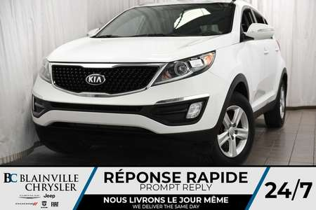 2014 Kia Sportage LX + MANUEL + MAGS + BLUETOOTH for Sale  - BC-90234A  - Blainville Chrysler