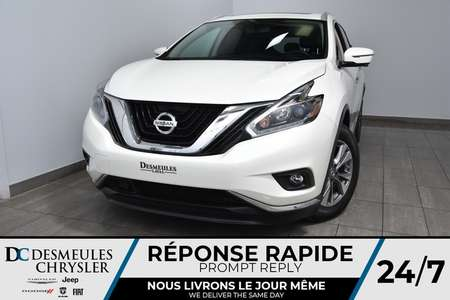 2018 Nissan Murano S * Toit Ouvr Pano * Cam 360 Dégr * 126$/Semaine for Sale  - DC-M1453  - Desmeules Chrysler