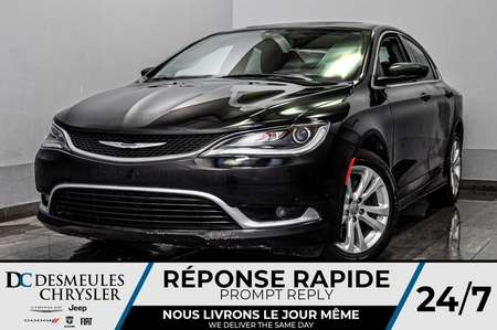 2017 Chrysler 200 Limited + a/c + toit ouv + bancs chauff for Sale  - DC-D1833  - Blainville Chrysler