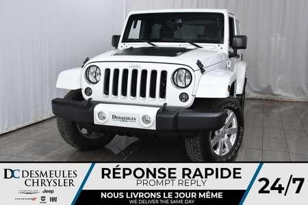2016 Jeep Wrangler Sahara * NAV * Sièges Chauff * Démarreur à Dist for Sale  - DC-M1281  - Desmeules Chrysler