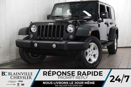 2014 Jeep Wrangler SPORT + V6 3.6L + MAGS + TOIT RIGIDE for Sale  - BC-P1260  - Desmeules Chrysler