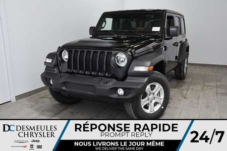2019 Jeep Wrangler Unlimited Sport S for Sale  - DC-90739  - Desmeules Chrysler