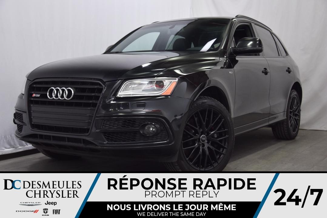 2016 Audi SQ5  - Desmeules Chrysler