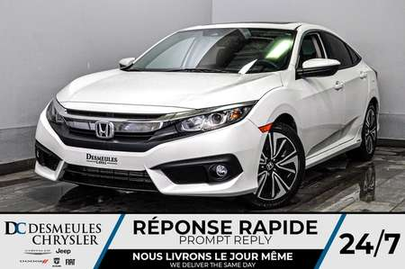2016 Honda Civic Sedan EX-T + a/c + toit ouv + cam recul + bancs chauff for Sale  - DC-D1834  - Blainville Chrysler