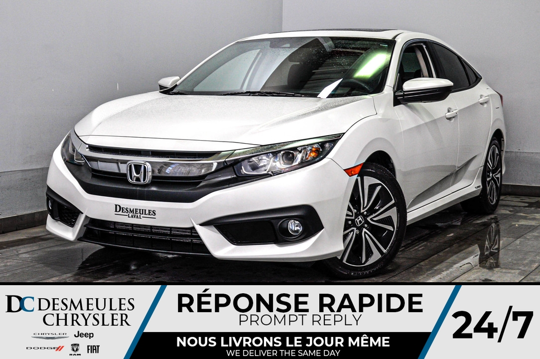 2016 Honda Civic Sedan  - Blainville Chrysler