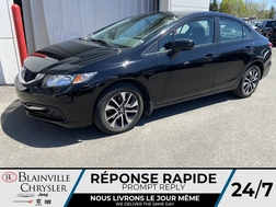 2015 Honda Civic EX * CAMERA RECUL * TOIT OUVRANT * BLUETOOTH  - BC-90514A  - Blainville Chrysler