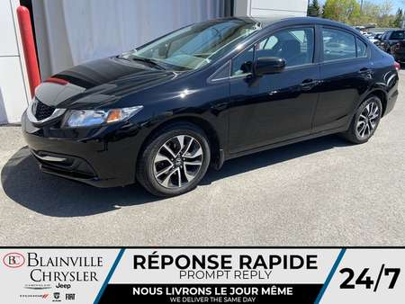 2015 Honda Civic EX * CAMERA RECUL * TOIT OUVRANT * BLUETOOTH for Sale  - BC-90514A  - Blainville Chrysler