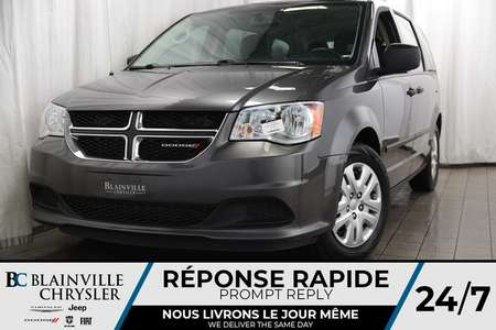2017 Dodge Grand Caravan SE + BLUETOOTH + A/C for Sale  - BC-P1265  - Desmeules Chrysler