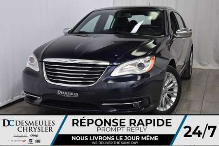 2012 Chrysler 200 Limited * Cuir * NAV * Toit Ouvr. * Sièges Chauff. for Sale  - DC-81269A  - Desmeules Chrysler
