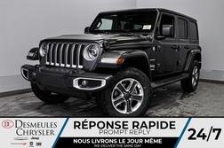 2020 Jeep Wrangler Sahara + BANCS CHAUFF + UCONNECT  *150$/SEM  - DC-20198  - Desmeules Chrysler