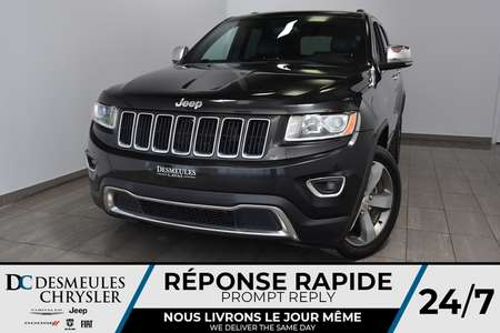2015 Jeep Grand Cherokee Limited *GPS *A/C * Toit ouvrant *121$/semaine for Sale  - DC-A1454  - Blainville Chrysler