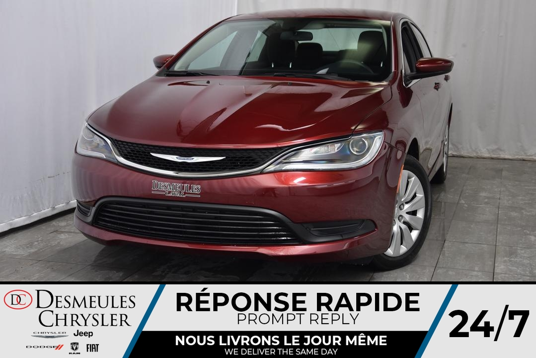 2016 Chrysler 200 LX *