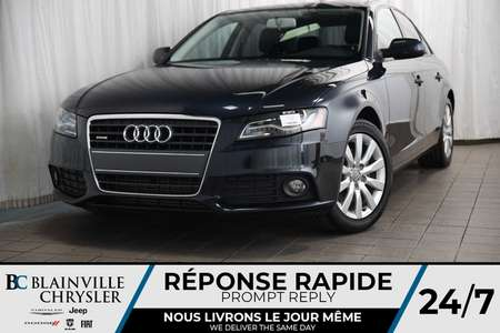 2012 Audi A-4 2.0T + PARFAITE CONDITION + BLUETOOTH + for Sale  - BC-M1301A  - Blainville Chrysler