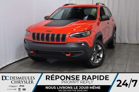 2019 Jeep Cherokee Trailhawk 112.67$/sem for Sale  - DC-90062  - Desmeules Chrysler