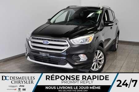 2017 Ford Escape Titanium *GPS *A/C *Toit pano *94$/semaine for Sale  - DC-M1424  - Blainville Chrysler