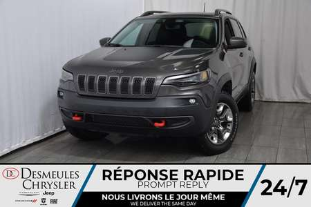 2019 Jeep Cherokee Trailhawk + BANCS CHAUFF + UCONNECT 109$/SEM for Sale  - DC-90063  - Blainville Chrysler