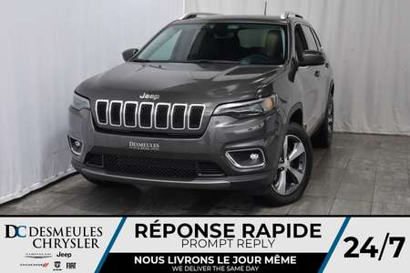 2019 Jeep Cherokee Limited 118$/sem FULL EQUIPÉ!4x4!TOIT PANO!ALPINE! for Sale  - DC-90076  - Desmeules Chrysler