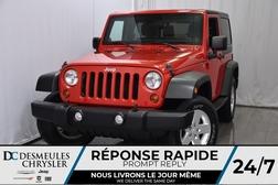 2011 Jeep Wrangler Sport * AWD * Manuelle * Commandes Vocales  - DC-A0992  - Desmeules Chrysler