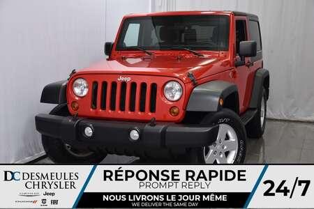 2011 Jeep Wrangler Sport * AWD * Manuelle * Commandes Vocales for Sale  - DC-A0992  - Blainville Chrysler