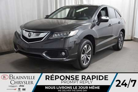 2016 Acura RDX ELITE PACKAGE * TOIT OUVRANT * CRUISE ADAPTATIF * for Sale  - BC-P1605  - Blainville Chrysler