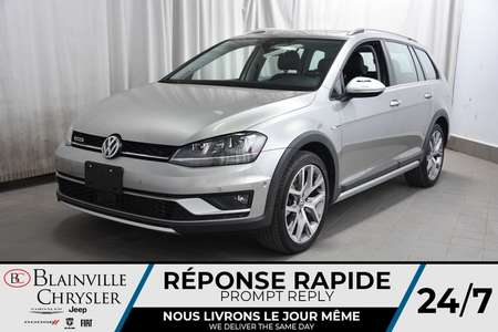 2017 Volkswagen Golf Alltrack 1.8 TSI * CUIR * TOIT PANO * GPS * CAMERA DE RECUL for Sale  - BC-P1611  - Blainville Chrysler