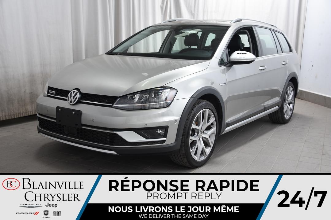 2017 Volkswagen Golf Alltrack  - Desmeules Chrysler
