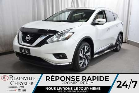 2016 Nissan Murano PLATINIUM * CUIR * TOIT * GPS * SIEGES CHAUFFANTS for Sale  - BC-P1612  - Desmeules Chrysler
