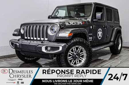 2019 Jeep Wrangler Sahara + BANCS CHAUFF + WIFI + UCONNECT for Sale  - DC-90727  - Blainville Chrysler