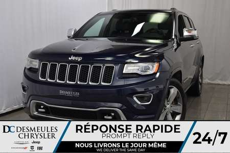 2016 Jeep Grand Cherokee Overland * Toit Ouvr. Pano. * NAV * Cam. Recul for Sale  - DC-81003A  - Blainville Chrysler