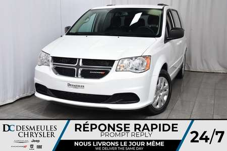 2017 Dodge Grand Caravan SXT *BLUETOOTH * CLIM.BI-ZONE* MODE ECO * 73$/SEM for Sale  - DC-71359  - Desmeules Chrysler