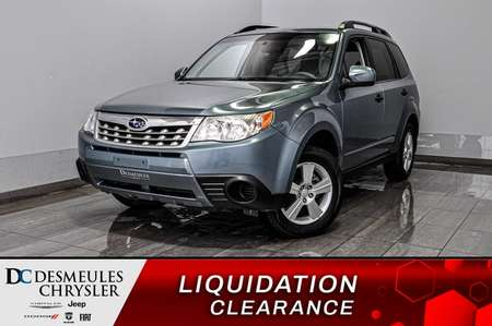 2012 Subaru Forester 2.5X + a/c + bancs chauff for Sale  - DC-D1871  - Blainville Chrysler