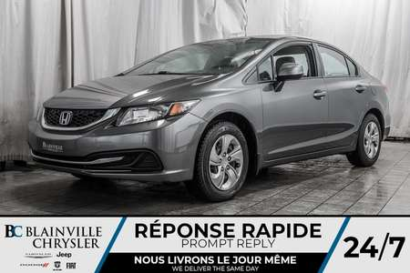 2013 Honda Civic LX * CRUISE * AUTOMATIQUE * A/C * for Sale  - BC-90066A  - Blainville Chrysler