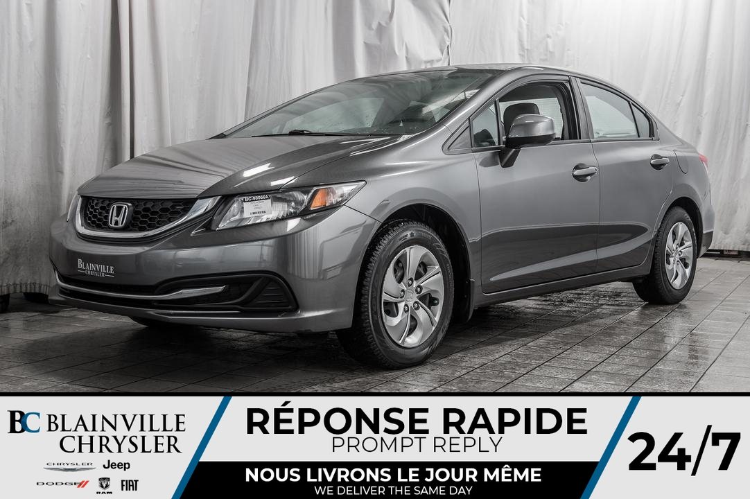2013 Honda Civic  - Blainville Chrysler