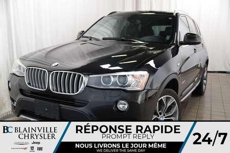 2015 BMW X3 28D+ DIESEL + PREMIUM PACK +NAVIGATION+ MAGS 19'' for Sale  - BC-P1100  - Blainville Chrysler
