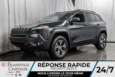 2016 Jeep Cherokee Trailhawk * 4X4 * BANCS CHAUFFS * VOLANT CHAUFF * for Sale  - BC-20143A  - Blainville Chrysler
