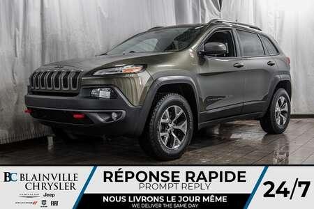 2016 Jeep Cherokee Trailhawk * 4X4 * BANCS CHAUFFS * for Sale  - BC-20133A  - Desmeules Chrysler