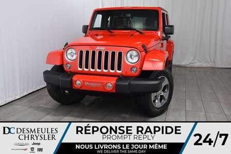 2017 Jeep Wrangler Sahara * Marchepieds Latéraux * Ensemble Toit for Sale  - DC-80393A  - Blainville Chrysler