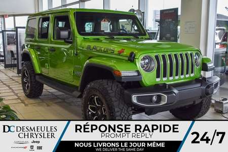 2019 Jeep Wrangler Sahara BLACK  OPS * MOJITO * LIFT KIT *185$/SEM* for Sale  - DC-90940  - Blainville Chrysler