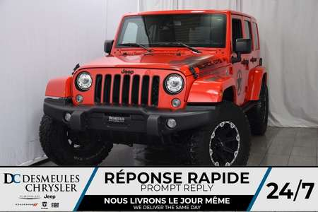 2017 Jeep Wrangler Unlimited Sahara **DÉMO** BLACK OPS + UCONNECT for Sale  - DC-DE71259  - Blainville Chrysler