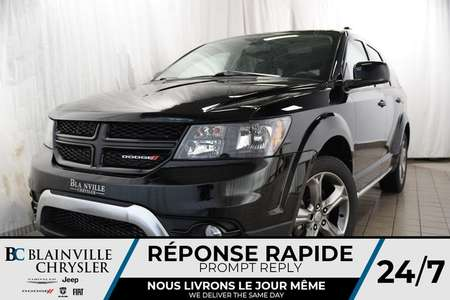 2016 Dodge Journey AWD+CROSSROAD+GPS+NAV+CUIR+7PASSAGERS for Sale  - BC-P1103  - Blainville Chrysler