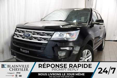2018 Ford Explorer 106$SEM+XLT+AWD+V6+DÉMARREUR DISTANCE for Sale  - BC-P1137  - Desmeules Chrysler