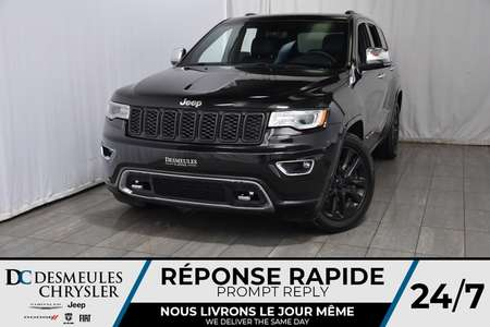 2018 Jeep Grand Cherokee Overland * Toit Ouvr Pano * Cam Rec * GPS * Cuir for Sale  - DC-A1117  - Desmeules Chrysler