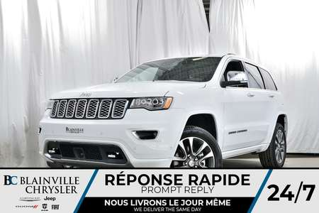 2018 Jeep Grand Cherokee Overland for Sale  - 80203  - Blainville Chrysler