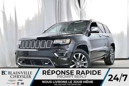 2018 Jeep Grand Cherokee Overland for Sale  - 80209  - Desmeules Chrysler
