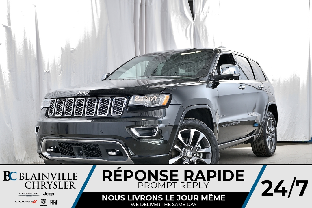 2018 Jeep Grand Cherokee  - Desmeules Chrysler