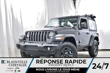 2018 Jeep Wrangler Sport for Sale  - 80281  - Blainville Chrysler