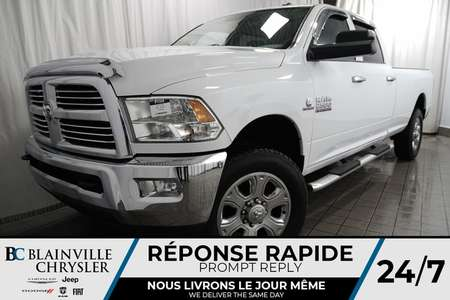 2017 Ram 2500 SLT + CREW CAB + 4X4 + CUMMINS 6.7L TURBO DIESEL for Sale  - BC-P1308  - Blainville Chrysler