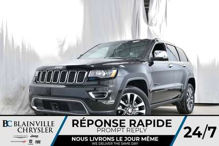 2018 Jeep Grand Cherokee Limited for Sale  - 80329  - Blainville Chrysler