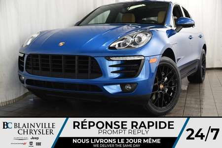 2017 Porsche Macan S + AWD + MAGS + V6 3.0L + BLUETOOTH + CUIR for Sale  - BC-P1346  - Desmeules Chrysler
