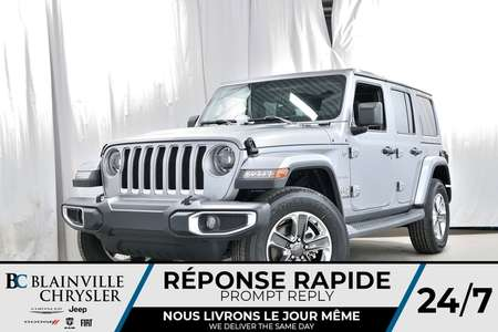 2018 Jeep Wrangler Unlimited Sahara for Sale  - 80337  - Blainville Chrysler